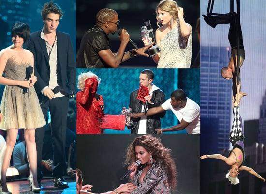 Photos From The Press Room and On Stage At The 2009 MTV VMAs, Plus Full List Of Winners
