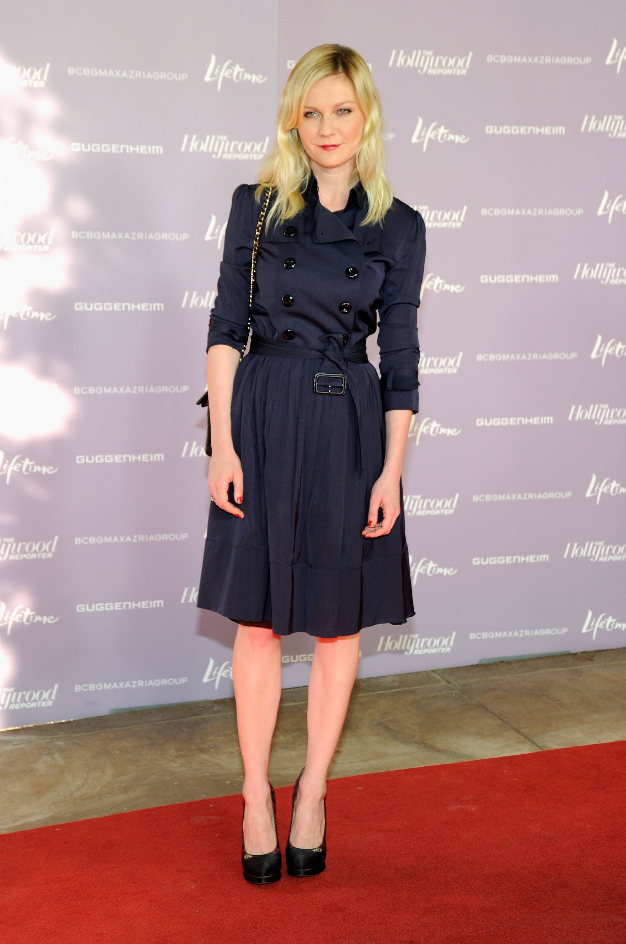 Kirsten Pulled Off The Belted Trench Cum Dress Look To Perfection At 31 Eclectic Ensembles
