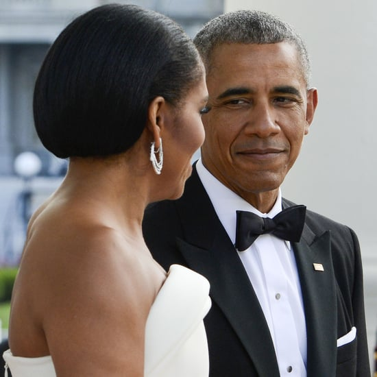 Barack and Michelle Obama at the State Dinner August 2016