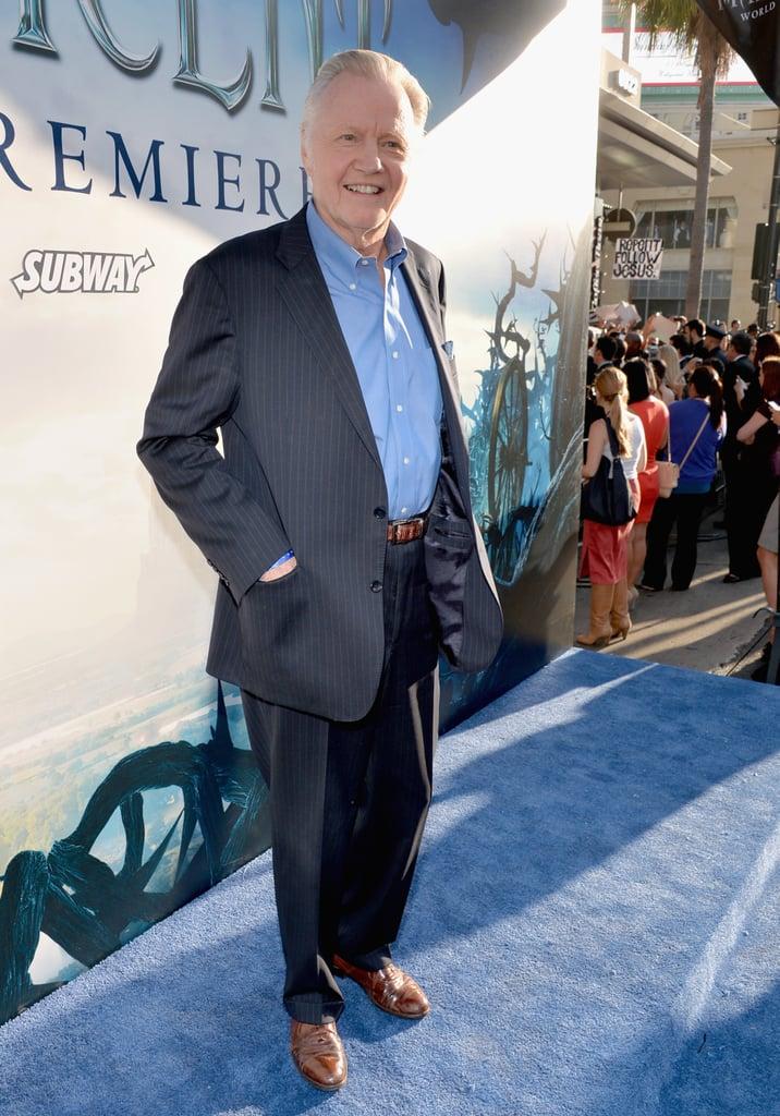 Angelina's father Jon Voight walked the carpet.