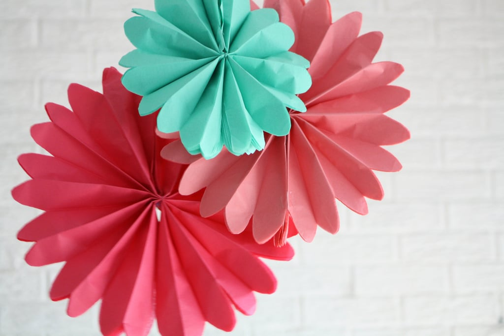 Not just for parties, these paper pinwheels ($10) will add a whimsical touch to your nursery.