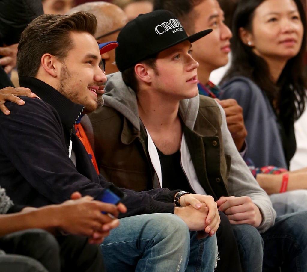 Liam Payne and Niall Horan left the other One Direction guys behind to catch an Orlando Magic vs. New York Knicks game.