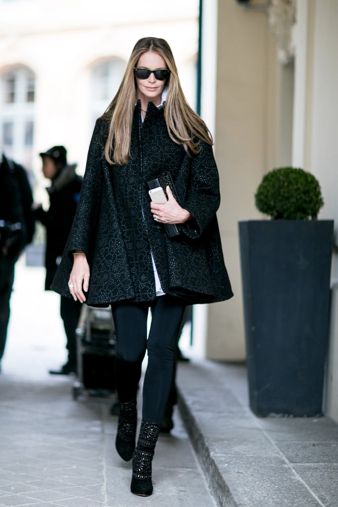 For Elle Macpherson, the sidewalk might as well have been a runway.