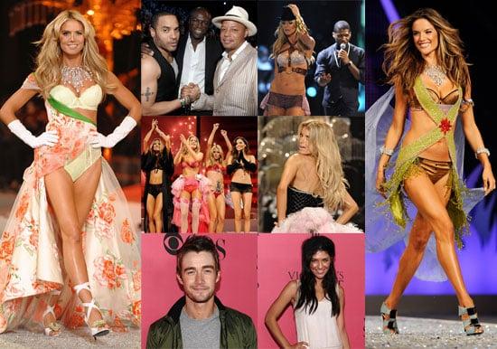 Red Carpet and Runway Photos of Victoria's Secret Fashion Show Including Heidi Klum, Marisa Miller, Miranda Kerr, Adriana Lima