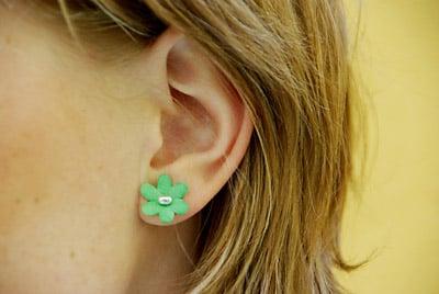 Bloom Scented Flower Earrings