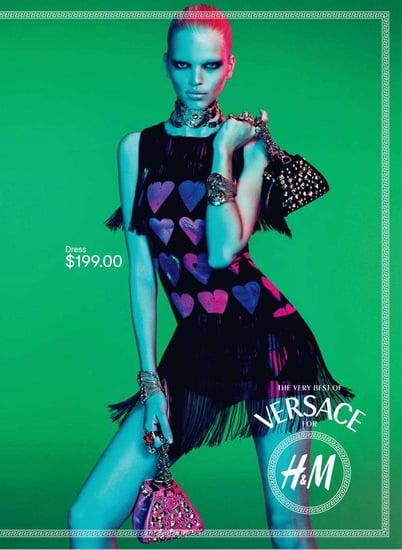 Versace for H&M Ad Campaign [Pictures]