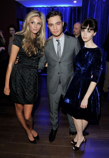 Pictures of Ed Westwick, Tamsin Egerton and Felicity Jones at the Chalet Girl UK Premiere London