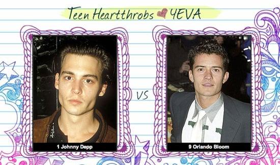 Teen Heartthrob Bracket Finals: Johnny Depp vs. Orlando Bloom