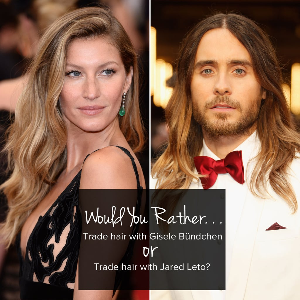 Would You Rather? -Celebrity Edition- - Survey