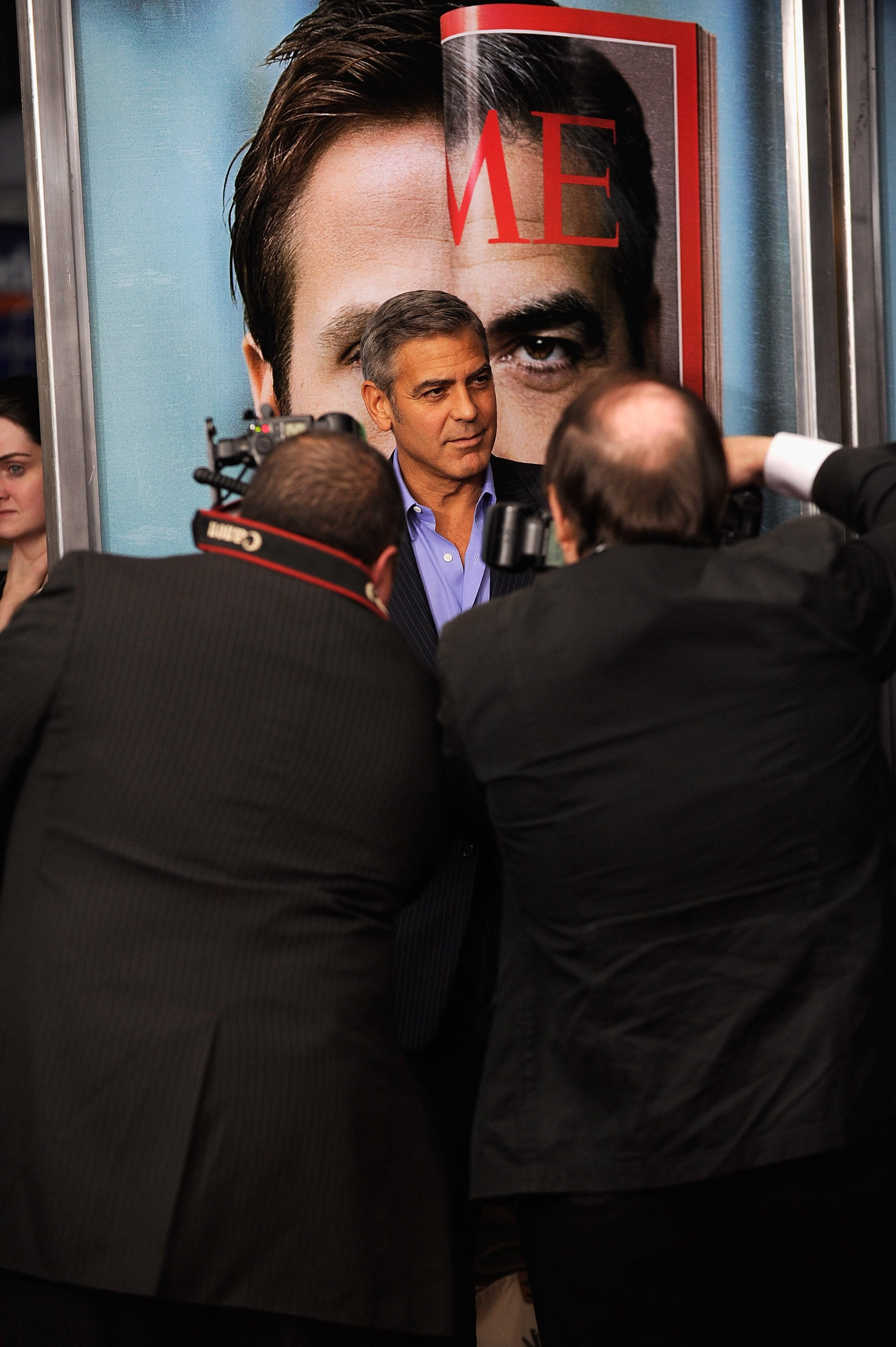 George Clooney walked the red carpet at the premiere of The Ides of March in NYC.