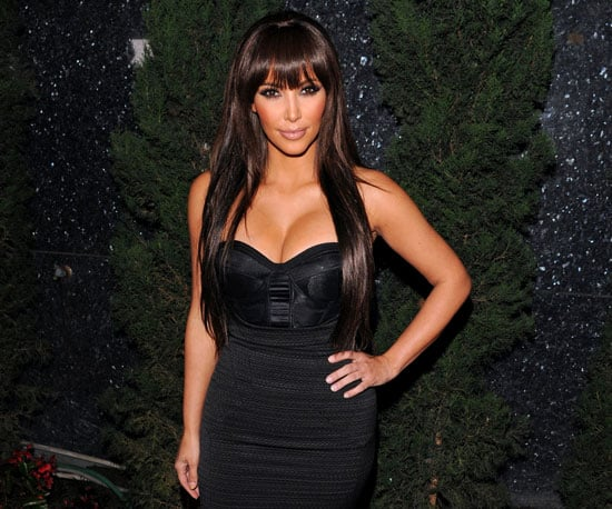 Slide Picture of Kim Kardashian at Premiere Party in LA