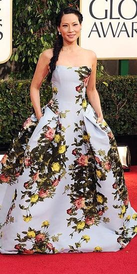 Lucy Liu(2013 Golden Globes Awards)