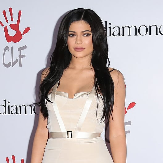 Kylie Jenner's Nude Gown at Diamond Ball 2015