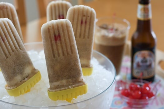 Yummy Link: Root Beer Float Pops