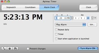 Download of the Day: Apimac Timer
