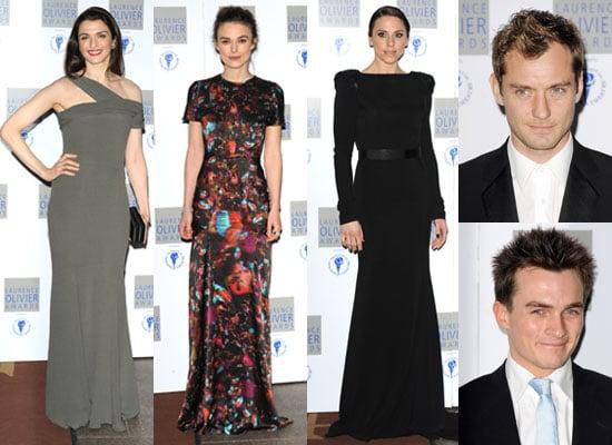 Photos of Laurence Olivier Awards 2010 Jude Law, Keira Knightley, Rupert Friend, Rachel Weisz, Mel C Plus Full List of Winners
