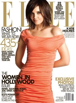 Katie Holmes Brings Her Sexy Smirk to November Elle