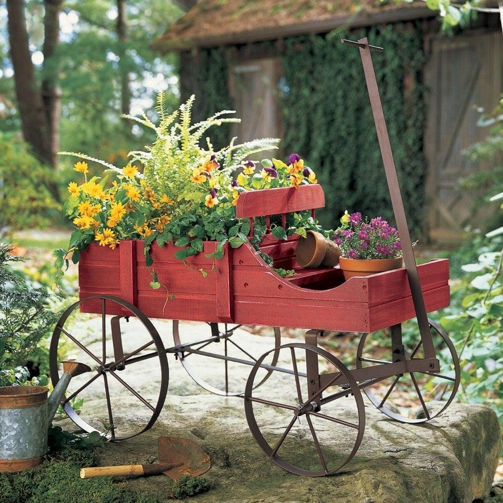 english lawn present basket