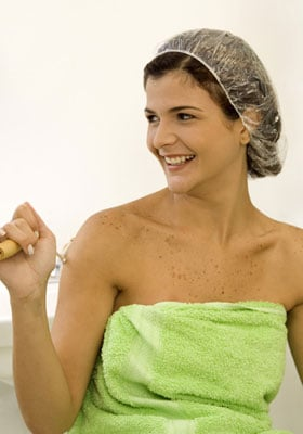 Get Out of the Shower With Deep Conditioner On