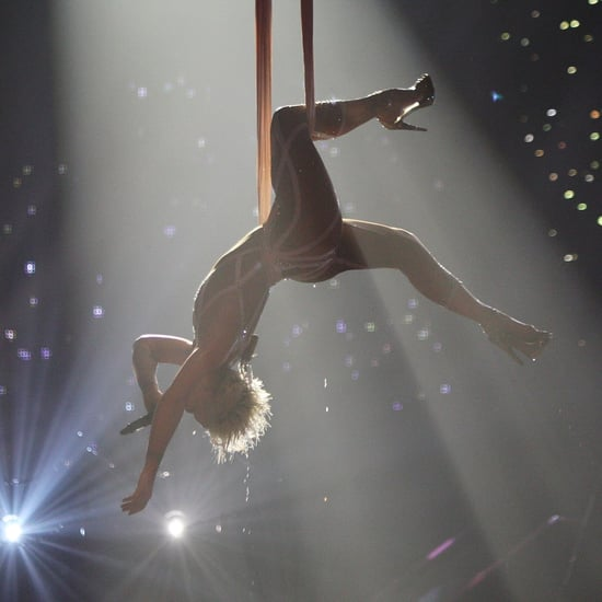 Pink Flying During Performances Pictures
