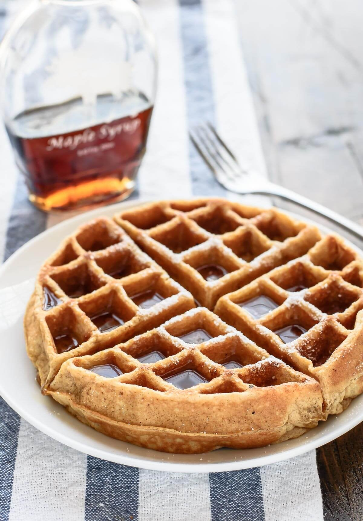 Whole-Wheat Waffles | 9 Healthy Waffles to Jump-Start Your Morning ...