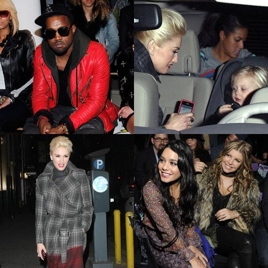 Pictures of Gwen Stefani, Vanessa Hudgens, Fergie at NY Fashion Week 2011