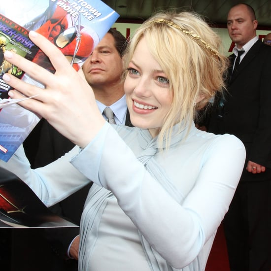 Emma Stone Andrew Garfield Moscow Spider-Man Premiere Pictures