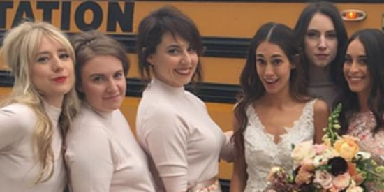 Lena Dunham's Latest Bridesmaid Look Is One We'd Gladly Wear Again