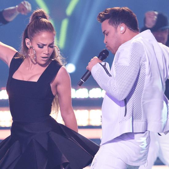 Jennifer Lopez, Pitbull, and Ricky Martin on American Idol