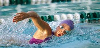 Swim Tip: Swim Downhill