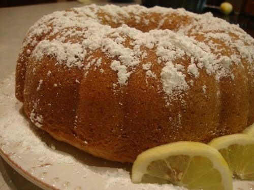 Coconut-Lemon Bundt Cake