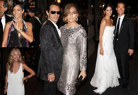 Photos From Dolce & Gabbana's Golden Age Party With Jennifer Lopez, Matthew McConaughey, Rihanna at Milan Fashion Week