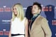 Gwyneth Paltrow and Robert Downey Jr. posed together for an Iron Man 3 photocall in Munich.
