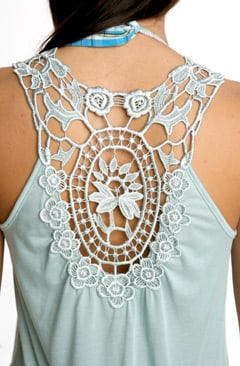 Fabworthy: Urban Outfitters Tops and Dresses with Back Details