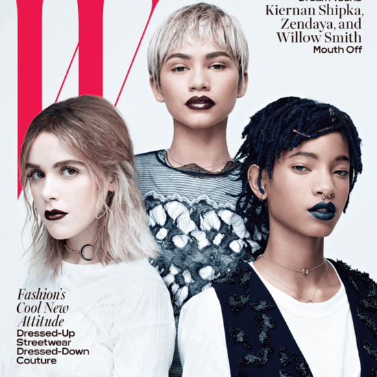 Zendaya, Willow Smith, and Kiernan Shipka on W Magazine