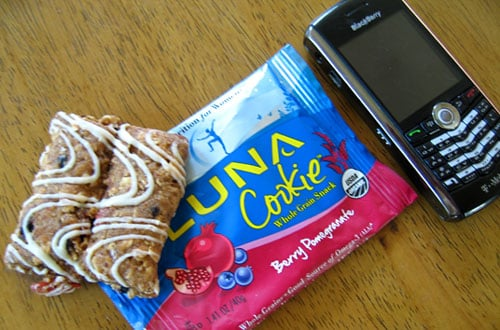 Food Review: Luna Berry Pomegranate Cookie