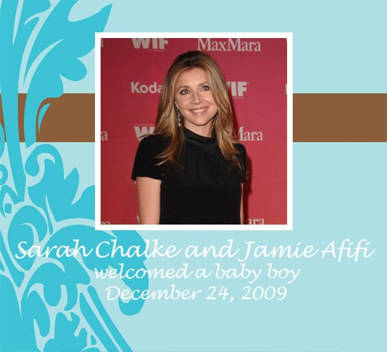 Sarah Chalke Has a Baby Boy