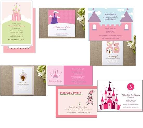 Princess Party Invitations