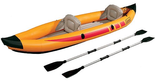 Recession Proof Your Workout: Inflatable Kayak