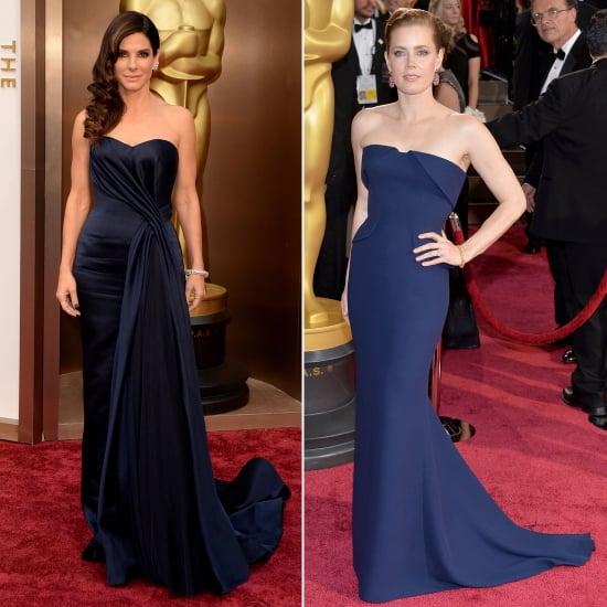 Similar Dresses at Oscars 2014