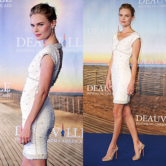 Kate Bosworth Wearing Chanel at Deauville Film Festival