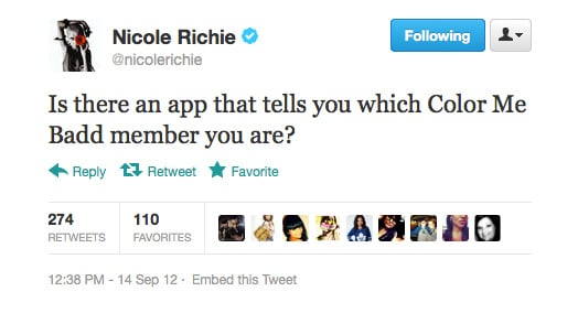 Nicole Richie asks a question no one else will.