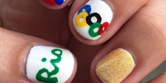 These Olympic Manicures Deserve All The Gold Medals