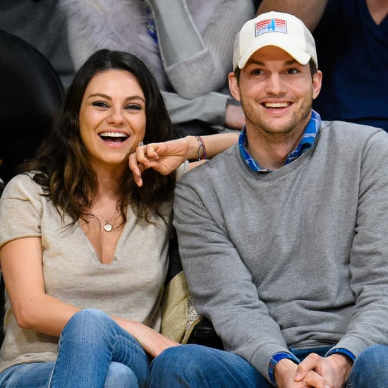 Mila and Ashton Leave Wyatt at Home For Game-Date PDA