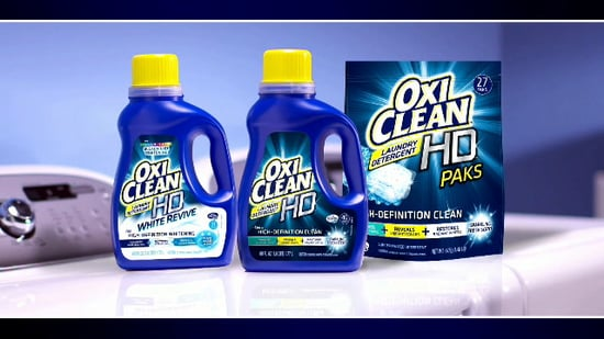 OxiClean HD Laundry Detergent Video