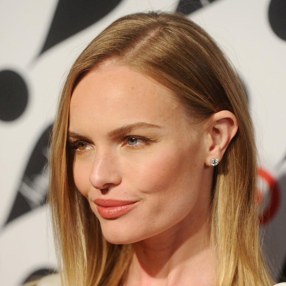 Kate Bosworth's muted peach lip