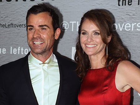 VIDEO:'I Didn't Know Anything' says The Leftovers Star, Amy Brenneman on Costar Justin Theroux's Surprise Wedding