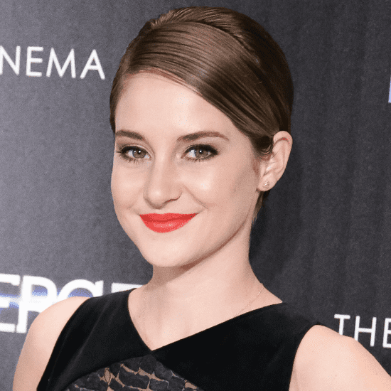 Shailene Woodley Makeup at Divergent Screening