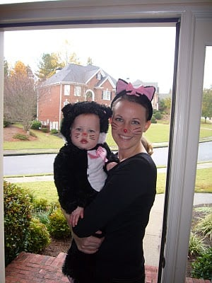 Mommy and Me Kitty Cat Costumes