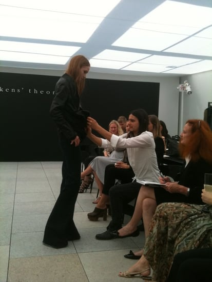 Photos of Olivier Theyskens's Collection for Theory, Theyskens' Theory